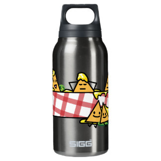 Nachos Melted Cheese Jalapeno Nacho tortilla chips Insulated Water Bottle