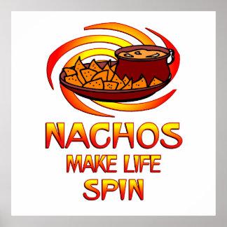 Nachos Spin Print