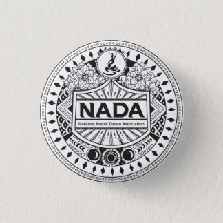 "NADA TRIBAL STYLE 1.25"" ROUND BADGE"