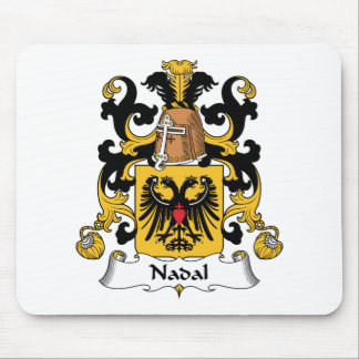 Nadal Family Crest Mouse Pad