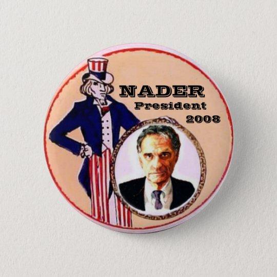 Nader Uncle Sam Button