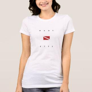 Nadi Fiji Scuba Dive Flag T-Shirt
