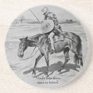 Nadie diga desta agua no beberé - Quijote del Cent Coaster