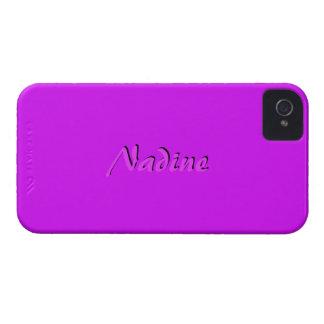 Nadine Full Purple iPhone 4 case