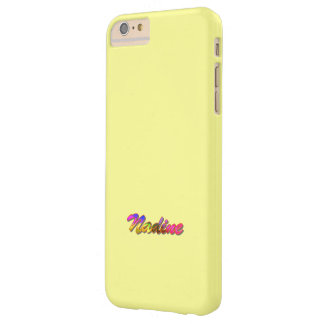 Nadine Light Yellow iPhone 6 Plus case