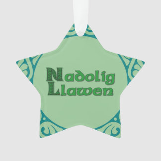 Nadolig Llawen - Welsh Christmas Decoration