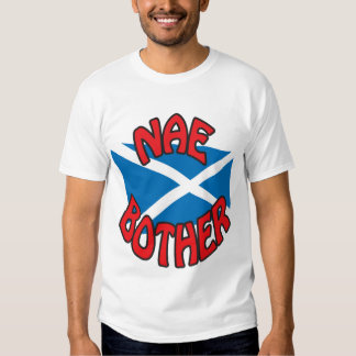 NAE BOTHER (white) T-shirts