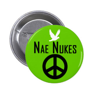 Nae Nukes Scottish Independence Indy Dove Badge