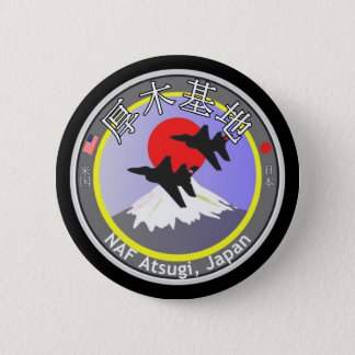 NAF Atsugi Japan 6 Cm Round Badge