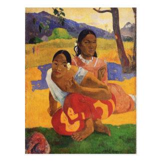 'Nafea Faa Ipoipo' - Paul Gauguin Postcard