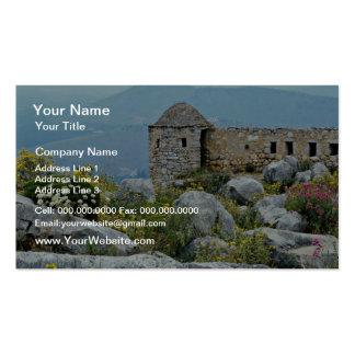 Nafplion, Greece  flowers Pack Of Standard Business Cards