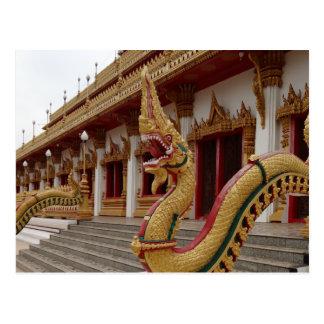 Naga at 9 Storey Stupa Khon Kaen Post Cards