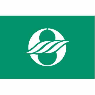 Nagahama, Shiga (Variant), Japan flag Standing Photo Sculpture