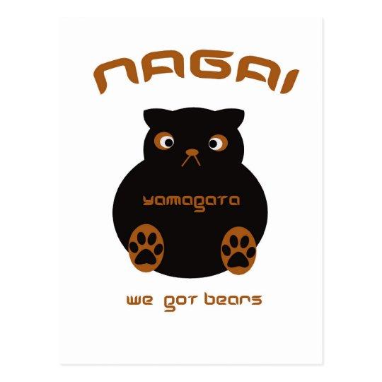 Nagai has bears postcard