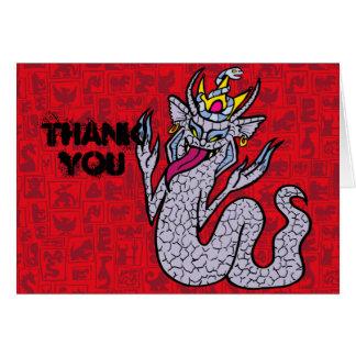 NagaJawa Greeting Card