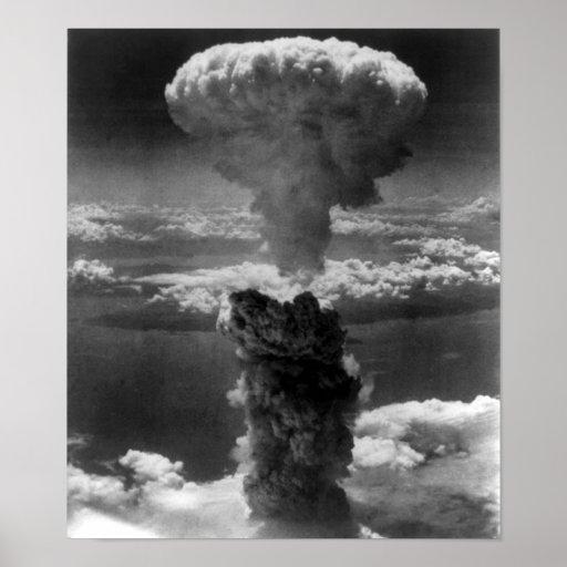 Nagasaki bomb poster