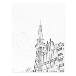 Nagoya TV Tower Postcard