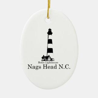 Nags Head. Christmas Ornament