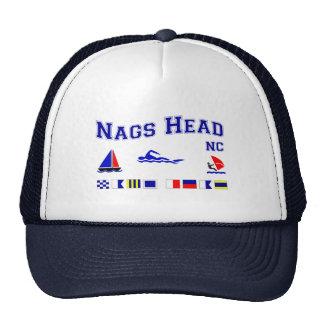 Nags Head NC Signal Flags Cap