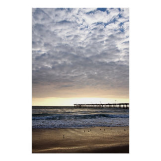 Nags Head Pier Poster