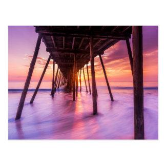 Nags Head Sunrise  North Carolina Postcard