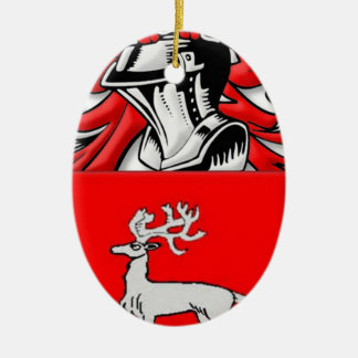 Nagy Coat of Arms Ceramic Oval Decoration