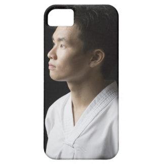 Nahaufnahme eines jungen erwägenden Mannes iPhone 5 Cases