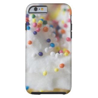 Nahaufnahme von besprüht und Zuckerguss Tough iPhone 6 Case