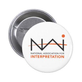 NAI Logo Paraphernalia 6 Cm Round Badge