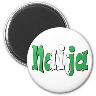 Naija (Nigerian Flag) Magnet