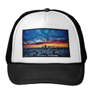 Naik Michel Photography - Sunset over Santa Monica Hats