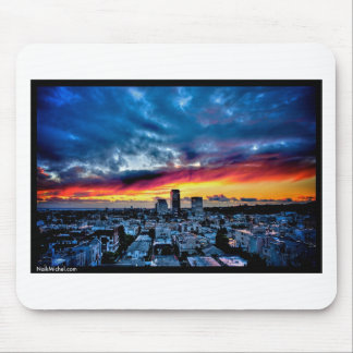 Naik Michel Photography - Sunset over Santa Monica Mouse Pad