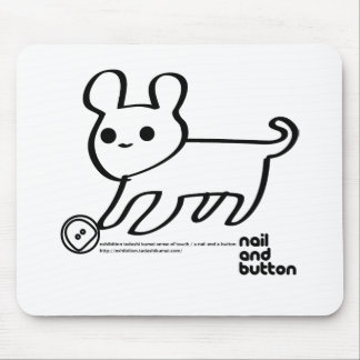 NAIL AND BUTTON 003 MOUSE PAD