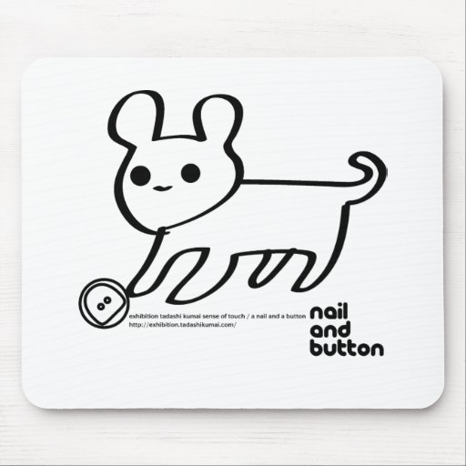 NAIL AND BUTTON 003 MOUSEPADS
