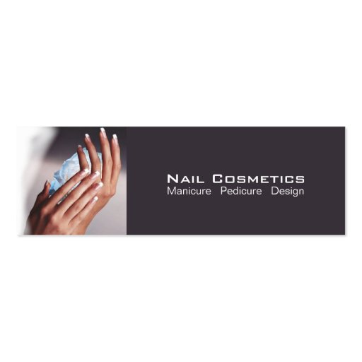 Nail Cosmetics 1 - Business, Profile, Calling Card Pack Of Skinny Business Cards