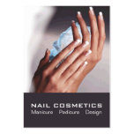 Nail Cosmetics 1 - Card, Business, Schedule Pack Of Chubby Business Cards