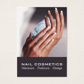 Nail Cosmetics 1 - Card, Business, Schedule Business Card