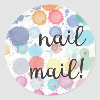 Nail Mail! Sticker