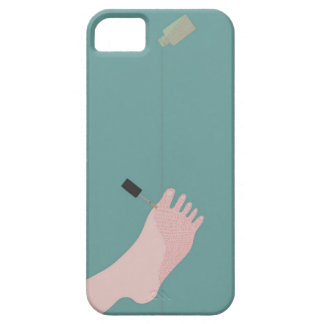 Nail Polish Barely There iPhone 5 Case