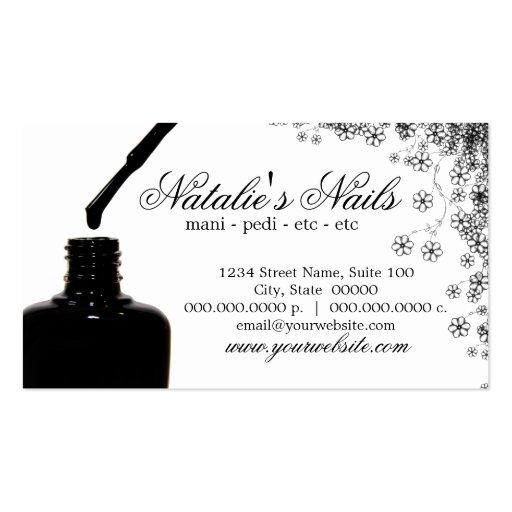 Nail Polish Business Cards