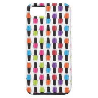 Nail polish pattern iPhone 5 cover