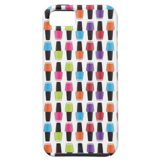Nail polish pattern case for the iPhone 5