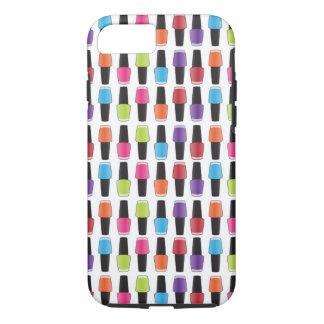 Nail polish pattern iPhone 7 case