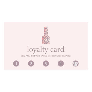 Nail Shop Business Cards