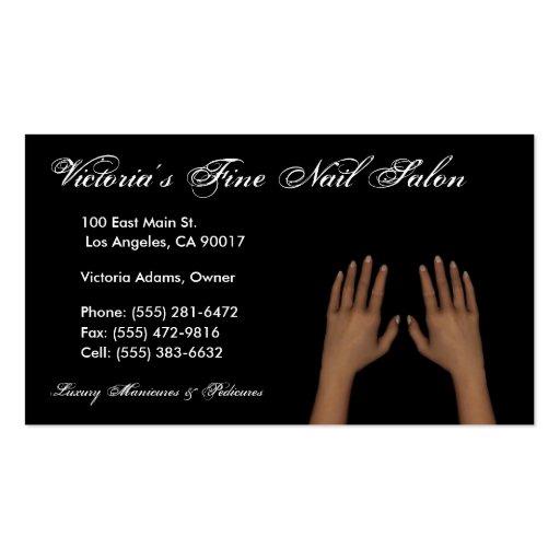 Nail Salon Business Card Templates CV Templates Download Free CV Templates [optimizareseo.online]