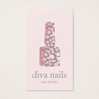 Nail Salon, Mauve Pink Manicurist Polish Bottle