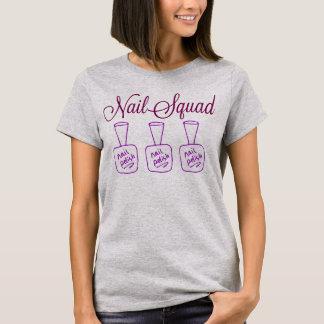 Nail squad womens basic tee shirt