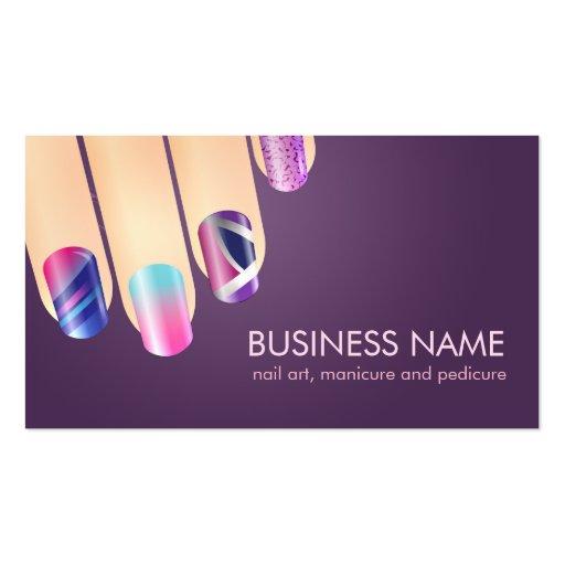 Nail tech business cards nail tech business card designs