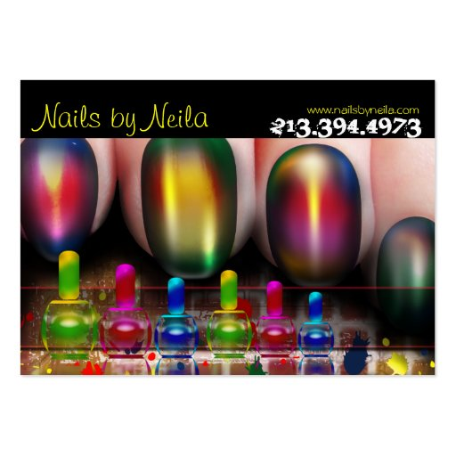 Nail Tech Nail Artist Nail Salon Business Card