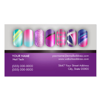 Nail Technician Appointment  Business  Card Business Cards